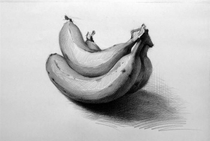 在绘画过程中注意构图,物体之间关系和透视的重要性   ●明暗素描静物